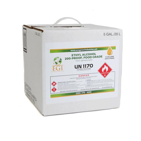Ethanol Cubitainer