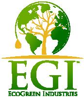 EGI EcoGreen Industries Logo