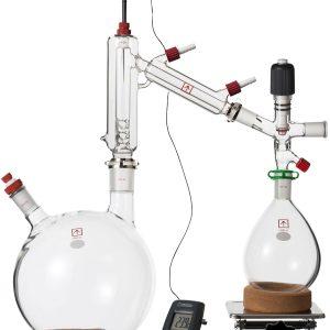 Ai 5 Liter Short Path Distillation Kit with Valved Adapter