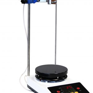 """UL/CSA Certified 350C 2000RPM 0.8-Gallon PID Magnetic Stirrer 5.5"""" Heated Plate"""