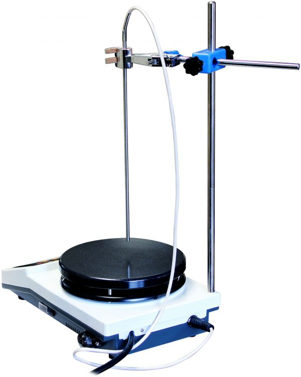 """350C 2000RPM 1-Gallon PID Magnetic Stirrer with 7"""" Heated Plate"""