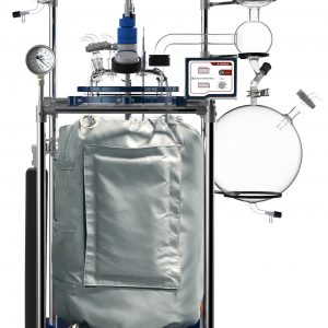 Ai 100L Single or Dual Jacketed Glass Reactor