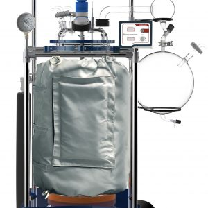 UL/CSA Certified Ai 100L Single Jacketed Filter Glass Reactor Systems