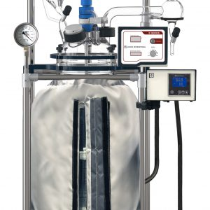 Ai 50L Non-Jacketed Glass Reactor with 200°C Heating Jacket