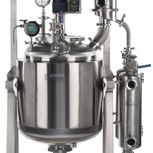 Ai Dual-Jacketed 100L 316L-Grade Stainless Steel Reactor