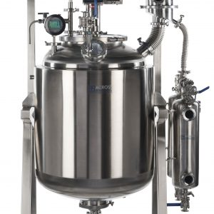 Ai Dual-Jacketed 200L 316L-Grade Stainless Steel Reactor