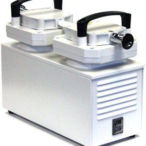 ULVAC UDP-6 6 cfm Full Chemical-Resistant 2-Head Diaphragm Pump