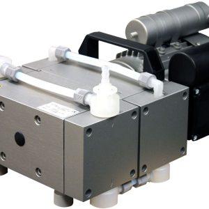 Welch 2052 2.3 cfm Full Chemical-Resistant 4-Head Diaphragm Pump