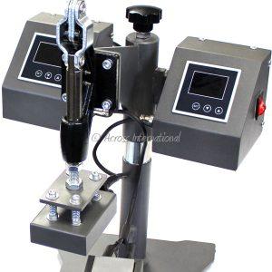 "Ai 3x2"" Swing-Away Manual Heat Press with Dual Heating Platens"