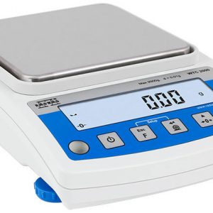 "Radwag 600g Capacity 0.01g Readability 5x5"" Precision Balance"